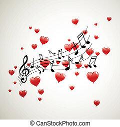 vetorial, notas música