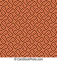 vetorial, pattern., seamless, africano