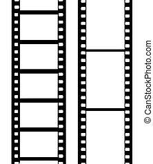 vetorial, película câmera