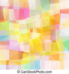 vetorial, pixel, mosaico, multicolored