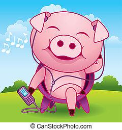 vetorial, porca