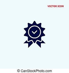 vetorial, qualidade, ícone