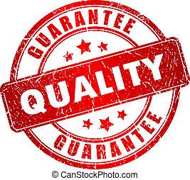 vetorial, qualidade, selo