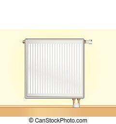 vetorial, radiador