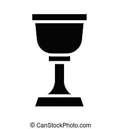 vetorial, relatado, grail, santissimo, ícone, patrick's, dia, são