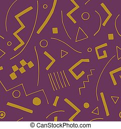 vetorial, seamless, textura, geomet
