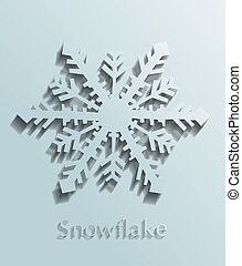 vetorial, snowflake