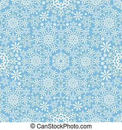 vetorial, snowflake, fundo