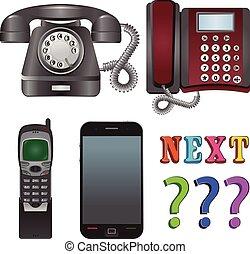 vetorial, telefone