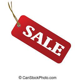 vetorial, venda, ilustração