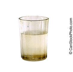 vetro acqua, sporco, fresco