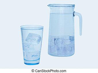 vetro acqua, vaso