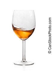 vetro, alcool