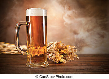 vetro, birra