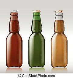 vetro birra, bottle.