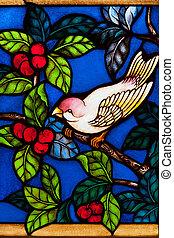 vetro, church., colorito