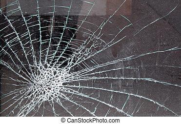vetro fracassato