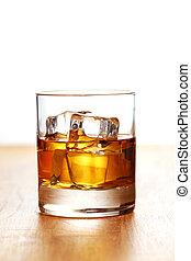 vetro, freddo, whisky