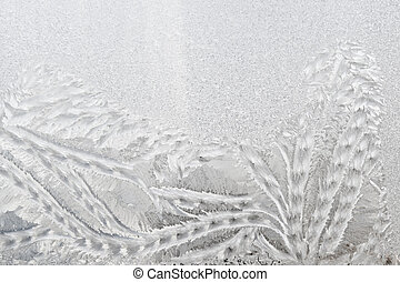 vetro, frosted, inverno