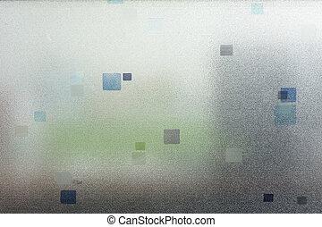 vetro, frosted, struttura