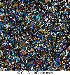vetro macchiato, struttura, in, uno, viola, tone., eps, 8