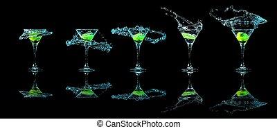 vetro, martini, collezione