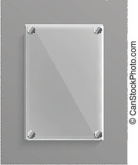 vetro, metalic, fondo, pannello