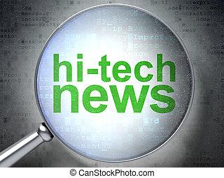 vetro, ottico, ciao-tecnologia, concept:, notizie