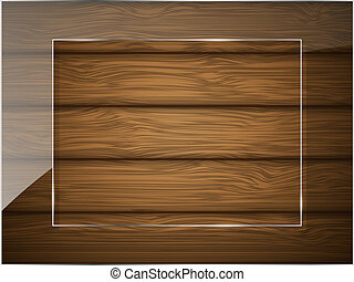 vetro., struttura legno