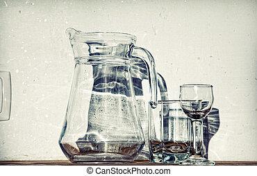 vetro, tableware