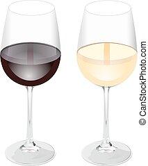 vetro vino