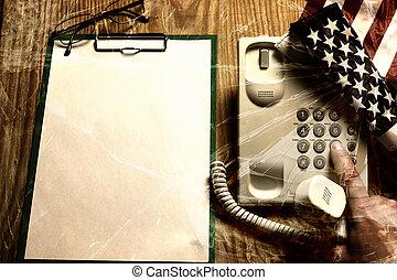 vetro, violance, chiamata, telefono, crepa