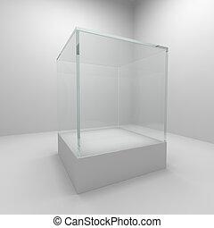 vetro, vuoto, bacheca