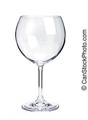 vetro, vuoto, vino rosso