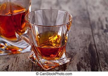 vetro, whisky scozzese