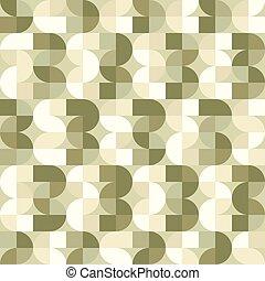 vettore, astratto, illusorio, pattern., seamless, fondo, geometrico