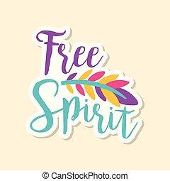 vettore, carino, stile, moda, illustrazione, testo, adesivo, libero, creativo, luminoso, penna, spirito, colori, pezza, cartone animato