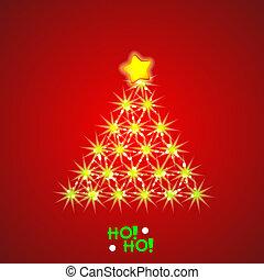 vettore, christmass, fondo., eps10