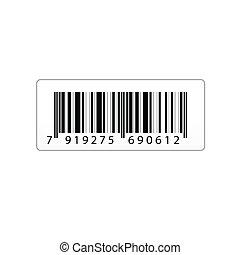 vettore, codice barre