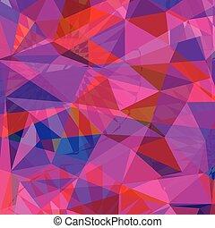 vettore, colorito, astratto, polygonal, fondo, geometrico