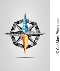 vettore, com, colorito, illustrazione