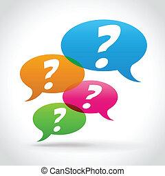 vettore, concetto, domande