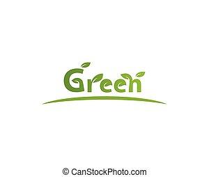 vettore, ecologia, natura, elemento