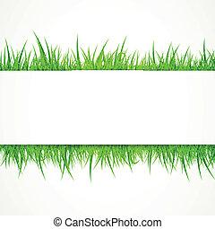 vettore, erba, fondo