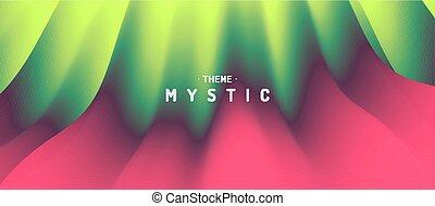 vettore, essere, usato, illustration., marketing, effect., mistico, astratto, dinamico, presentation., lattina, fondo, trendy, pubblicità, gradients.