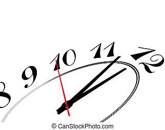 vettore, illustrati, celebrare, tempo
