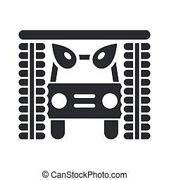 vettore, illustrazione, di, singolo, isolato, icona