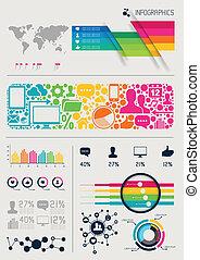 vettore, infographics