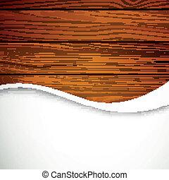 vettore, legno, fondo