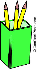 vettore, matite
